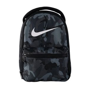 Nike Gray Camo Print Insulated Tote Lunch Bag